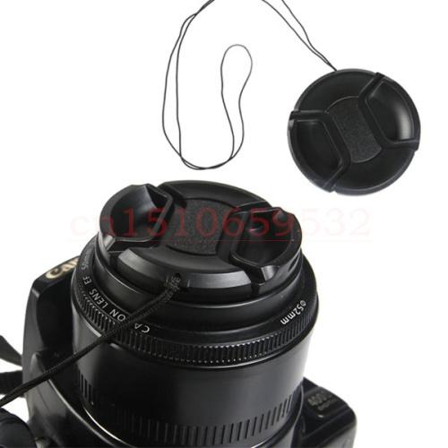 Wholesale-62mm Center Pinch Snap-on Front Lens Cap For pentax k30 kr K-X K-7 K10D K100D K20D K200D 18-135Lens Filters