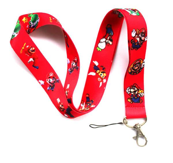 Hot sale wholesale 50pcs cartoon Animation image phone lanyard fashion keys rope neck rope card rope free shipping 422