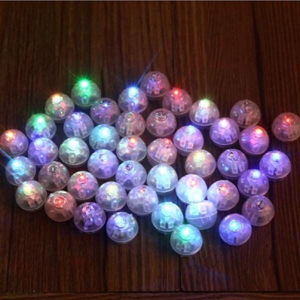 LED light bulb lamp mulit color option for helium balloon Paper Lantern craft DIY Birthday Wedding Party decoration