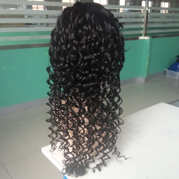 wholesale 8-28 inch human braiding hair wigs natural color indian women human hair wig for sale