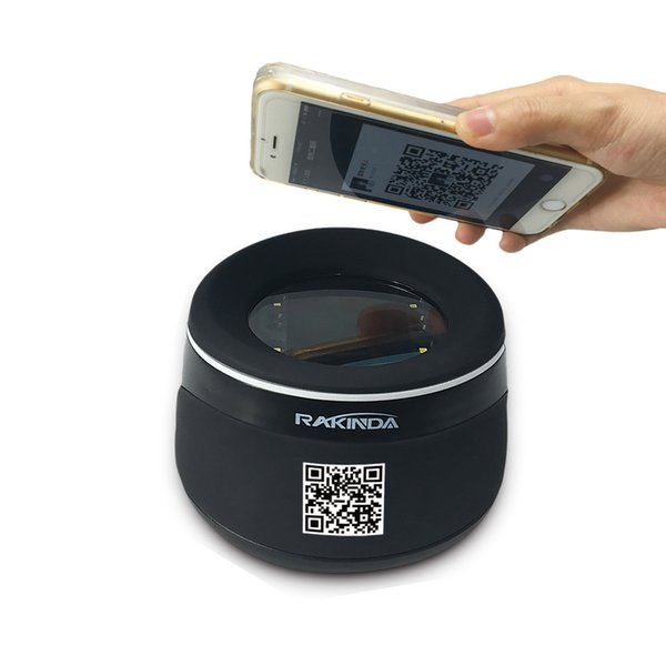 High Quality USB RS232 Interface Desktop Barcode Reader Qr Code Scanner For Mobile Phone Payment