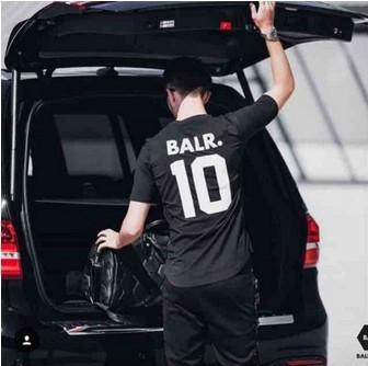 best selling Brand Tee Europe English alphanumeric street all-match cotton T-shirt men fashion sports soccer ball wear casual tee