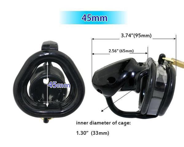 Black 45mm ring