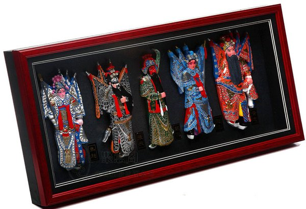 The five opera figure frame wall Pendant China wind high-end business gifts gifts of foreign affairs shipping