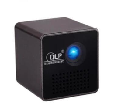 All'ingrosso-originale UNIC P1 + WIFI Proiettore mobile wireless Supporto Miracast DLNA Pocket Home Movie led Proiettore DLP MINI Proyector Beamer