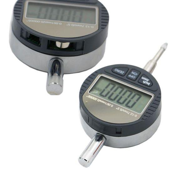 "best selling Freeshipping 0.001mm Electronic Micrometer 0.00005"" Digital Micrometro Metric Inch Range 0-12.7mm 0.5"" Dial Indicator Gauge With Retail Box"
