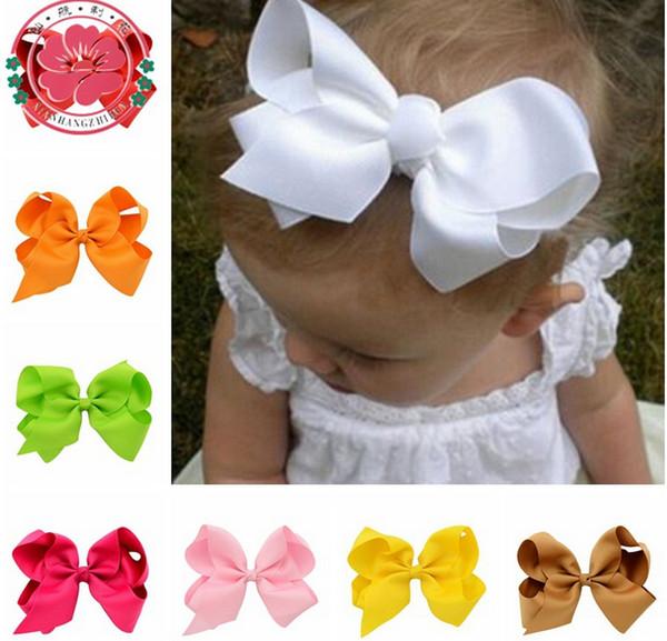 Accessoires de puériculture 1PCS hair bows bande Boutique Ruban Bandeaux Pour Fille Bébé Enfants Articles pour bébé