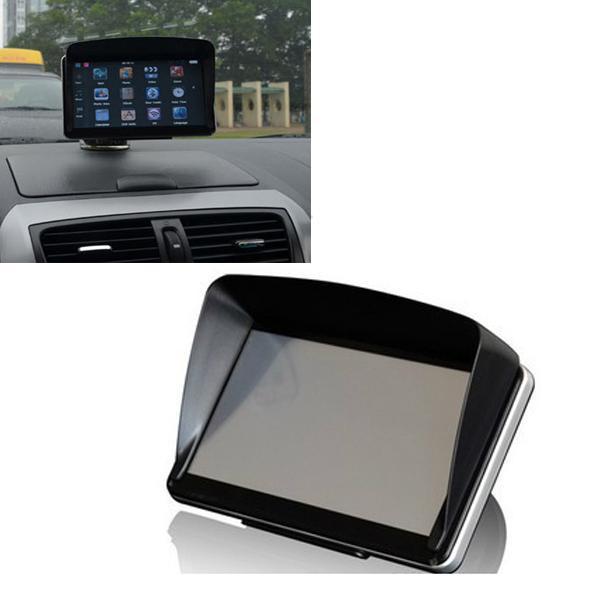 GPS NavIgation Accessories 5 Inch GPS Universal Sunshade Sunshine Sun Shade GPS Screen Visor Hood Block