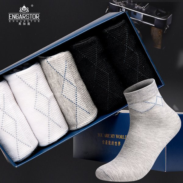 2017 hot sale men sexy hosiery male combed cotton socks new fashion moisture absorption sports casual socks basketball hosiery W9810