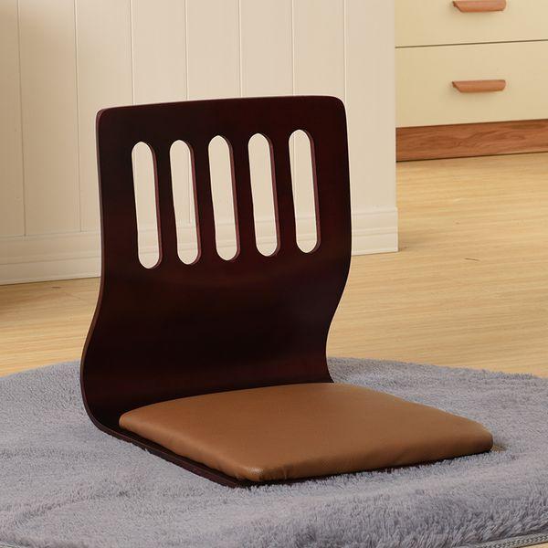 (4pcs/lot) Japanese Zaisu Chair Leather Cushion Seat Asian Furniture Traditional Tatami Floor Legless Zaisu Chair Design