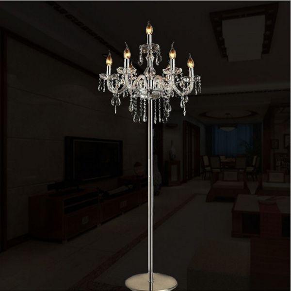 Großhandel Moderne Luxus Kristall Stehlampe Mode Kreative Stehlampen  Wohnzimmer Schlafzimmer Stehlampe Modell Zimmer Club Licht Neue  Sonderangebot Von ...