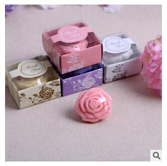 Regali fatti a mano floreali del sapone di PASAYIONE Giveaway per gli ospiti Ricordo di nozze Casamento Decor Trasporto libero per la maggior parte dei paesi