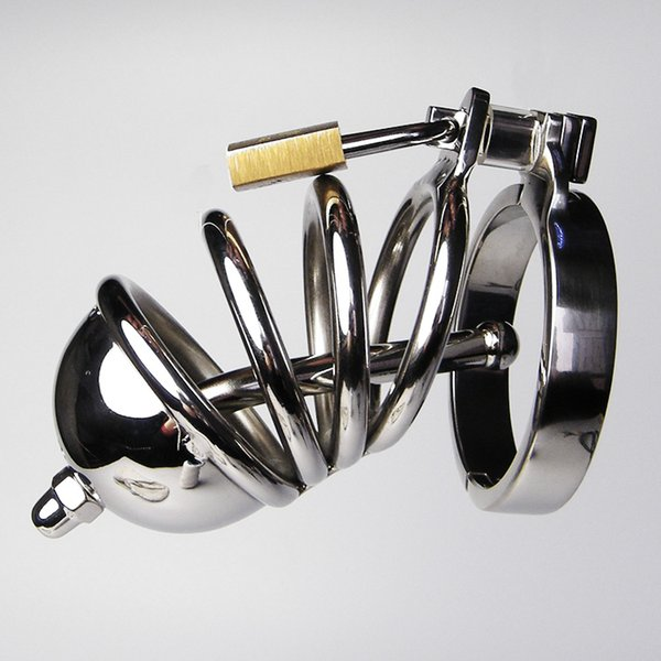 Stainless steel Cock belt, male chastity lock CB6000,Adult alternative toys,male chastity device,cock ring,men sex toys