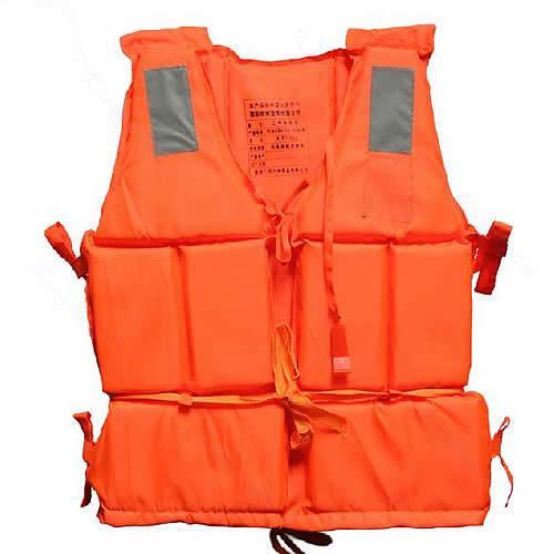 top popular Wholesale- New Orange Adult Foam Flotation Swimming Life Jacket Vest With Whistle 2019