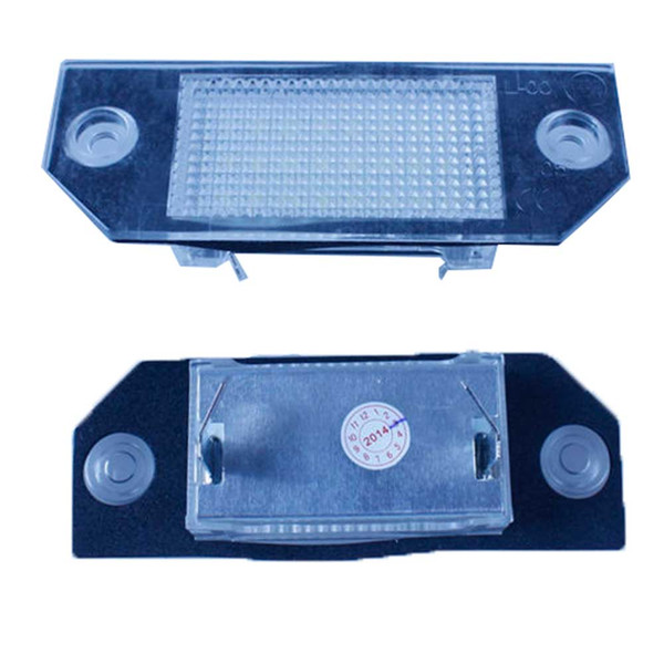 2PCS 18 SMD LED License Plate Lamp for Ford Focus C-MAX Ford Focus MK2