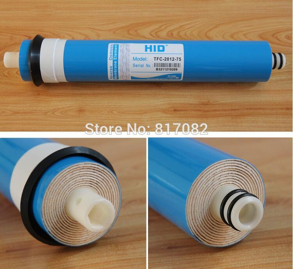 best selling 75gpd RO Membrane reverse osmosis system Water Purifier RO membrane Cartridge General Common Water Filters for Household