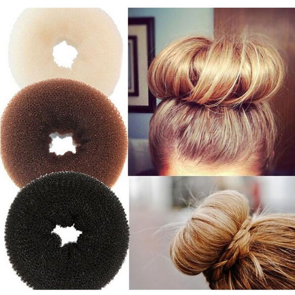 Big bun maker princess donuts meatball headwear hair accessory headband S M L XL 3 COLORS Free Shipping