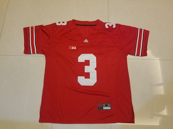 3b5d2dbd8e4 Mens Ohio State Buckeyes #7 Dwayne Haskins #3 Damon Arnette #18 Tate  Martell 21 Parris Campbell Jr. Black Red White College Football Jerseys