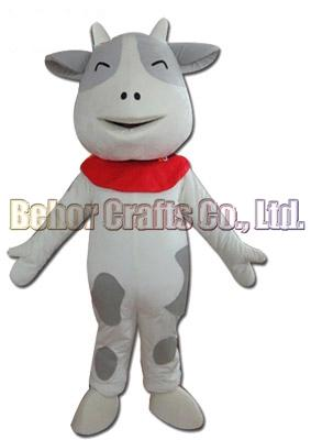 Cows mascot costume EMS free shipping, cheap high quality carnival party Fancy plush walking Dairy cow mascot adult size.