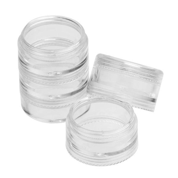 Wholesale- Empty Nail Art Tip Glitter Storage Boxes 25 Compartments Nail Box Nail Art Rhinestone Case Organizer Removable Transparent