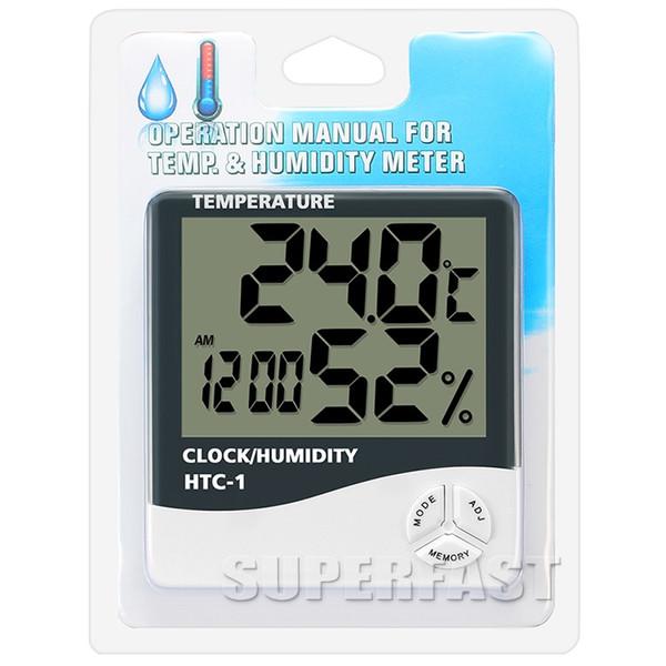 درجة الحرارة والرطوبة متر