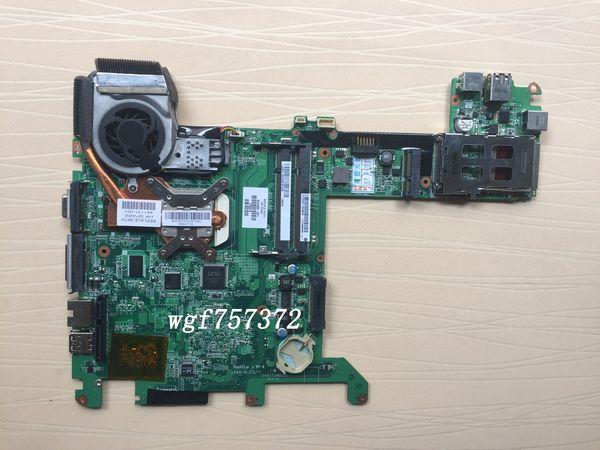 For HP Pavilion TX2 TX2-1000 TX2-1050 Laptop Motherboard 504466-001 w/ AMD CPU + Fan DDR2 AMD Notebook Systemboard