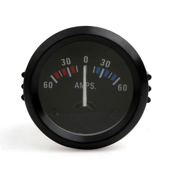 2 Inch (52mm) Universal Ammeter 60-0-60 AMP Gauge Meter + Voltmeter Gauge Car Boat Truck ATV AMP Meter Auto Gauge CEC_542
