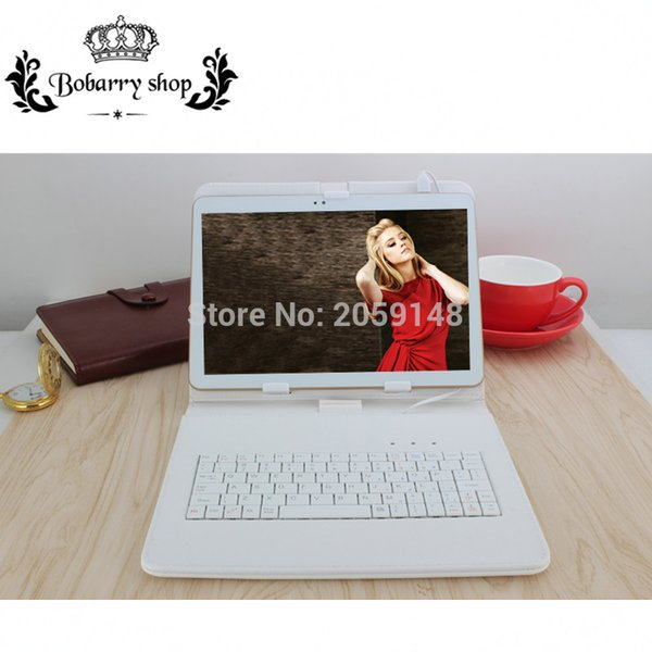 Wholesale- 10.1 inch Android 6.0 Tablet Pc 4GB Ram 32GB Rom Dual SIM Card 2G 3G 4G LTE IPS LCD Phone Call Tablets Mini Pad