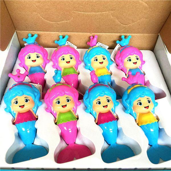 Baby Kids Mermaid Clockwork Dabbling Bath Toy Classic Swimming Water Wind UpSTUK