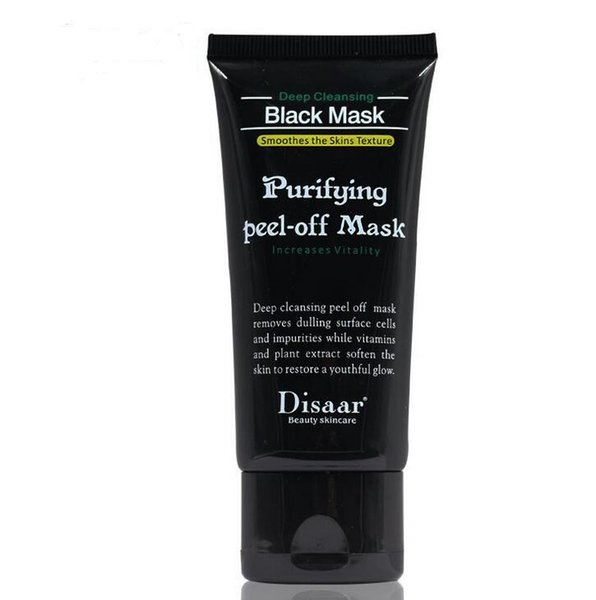 2017 Hot Selling 50ml Blackhead Remover Deep Cleansing Purifying Peel Off Oil Control Acne Black Mud Face Mask