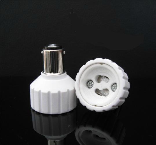 Adattatore BA15D TO GU10 Materiale di alta qualità materiale ignifugo adattatore presa da B15 a G10