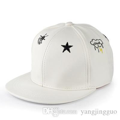 Icon to the li-ying zhao paragraphs with hat fur hats small bone song warm sun star pattern hip-hop baseball cap