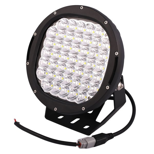 "DHL 2PCS 10"" 225W 22500lm Cree Chips LED Driving Work Light Offroad SUV ATV Spot Pencil Beam 45LED*5W Power Bright Flood Protective Cover"