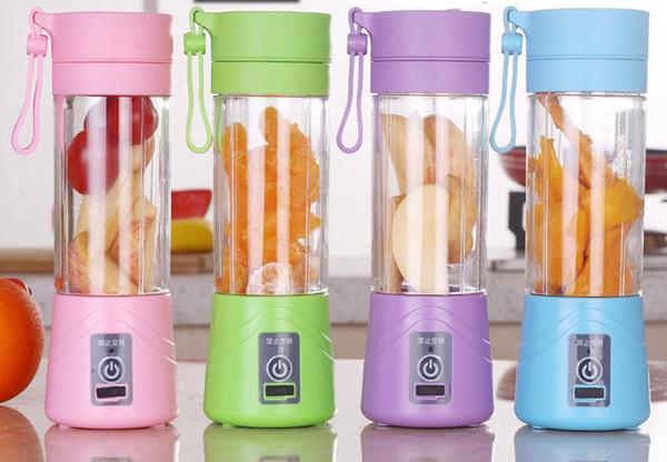 top popular Blender Juicer Electric Fruit Juicer Handheld Smoothie Maker Blender Bottle Juice Cup Kitchen Appliances Of Portable Personal 2019