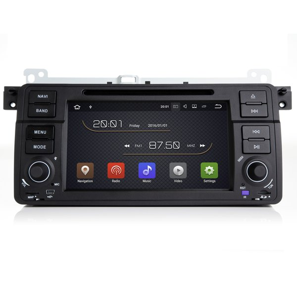 """7"""" Android 7.1.1 System Auto Radio Recorder For BMW E46 M3 Rover 75 MG ZT Car DVD GPS Radio RDS BT WIFI 4G PIP SWC OBD DVR Quad Core 2G RAM"""