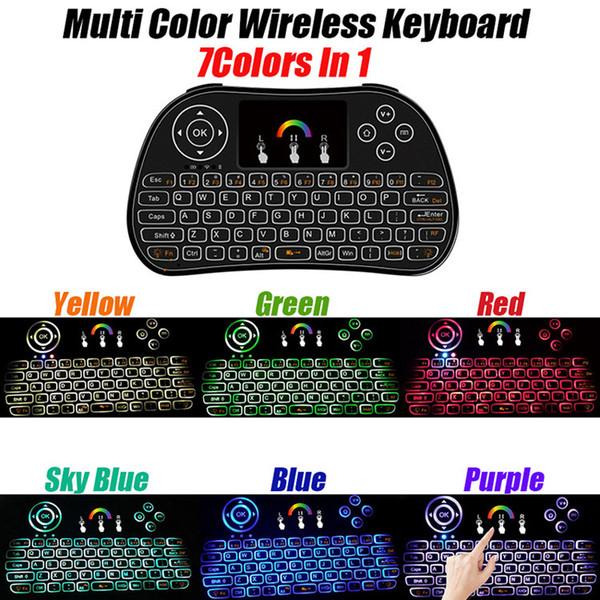 Rii Air Mouse Drahtlose Handheld Tastatur Mini I8 2,4 GHz Touchpad Fernbedienung Für MXQ 4 Karat rk3229 s905x android tv box Mini PC