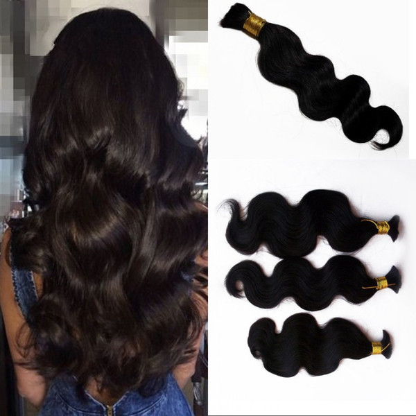 Unprocessed Vietnamese Body Wave Bulk Hair Natural Color Human Braiding Hair No Weft 8-26 inch FDSHINE