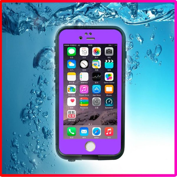 100% Sealed Waterproof Resistant Full Body Shock proof defender cases cover for Iphone 6S iphone 6s plus with Retail Box