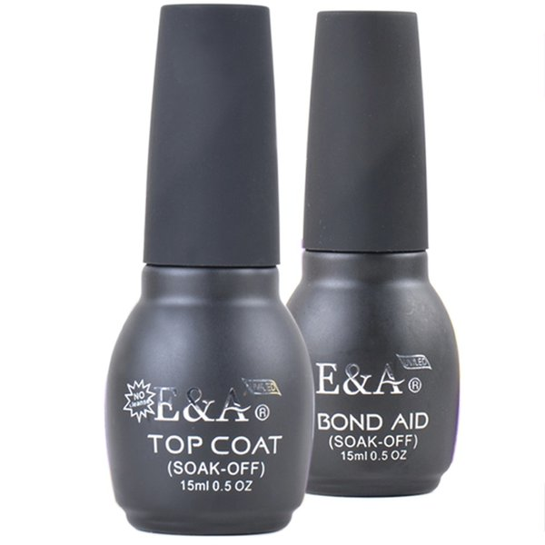 Wholesale E&A Base And Top Coat Kits For Professional Gel Nail ...