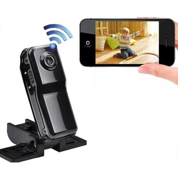 Portable Wifi Netzwerk Kamera Video Recorder Mini DV Action Camcorder für Iphone Android Ipad PC Fernansicht MD81 MD81S