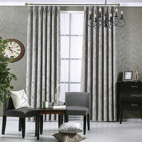 best selling New Style Windows Curtain For Living Room Bedroom Hotel Gold chenille Jacquard Flowers Drapes Blackout Window Drapes Custom Made For Window