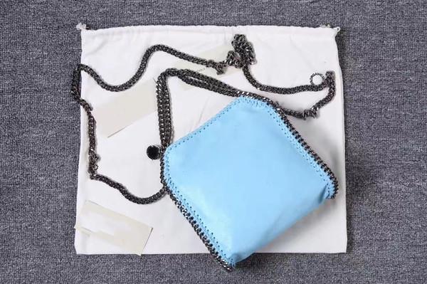 Venda quente clássico material de proteção ambiental bolsa das mulheres cadeia de alta qualidade das mulheres bolsa de ombro único saco de luxo
