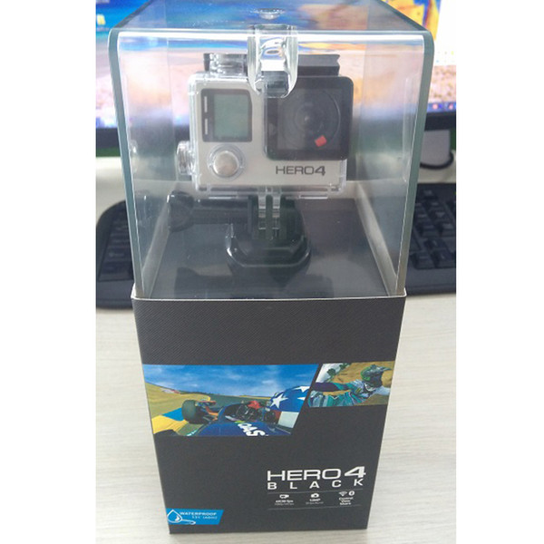HERO4 Black Sports Camera with 16GB Secure Digital Memory Card and Accessories for gopro hero4 black Tripod Adapter For GP Bundle WiFi