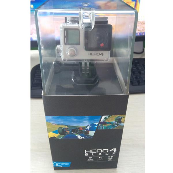 HERO4 Black Sportkamera mit 16GB Secure Digital Speicherkarte und Zubehör für gopro hero4 black Stativadapter für GP Bundle WiFi