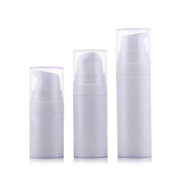 20pcs 10 ml 15 ml piccolo mini vuoto plastica pet profumo di toner riutilizzabile bottiglie airless contenitore del campione cosmetico per viaggi EB12