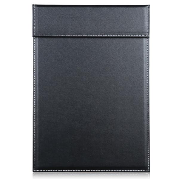 Großhandel - Magnetische Büro Desktop Leder A4 Datei Papier Zwischenablage Ordner Zeichnung Schreibtafel Tablet Pad