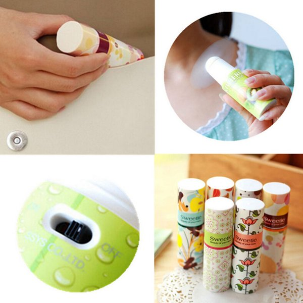 Wholesale- One Piece Portable Mini Handheld Lipstick Shape Fan Portable Small Battery Operated Cooler