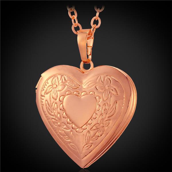 Rosa placcato oro-doppio cuore