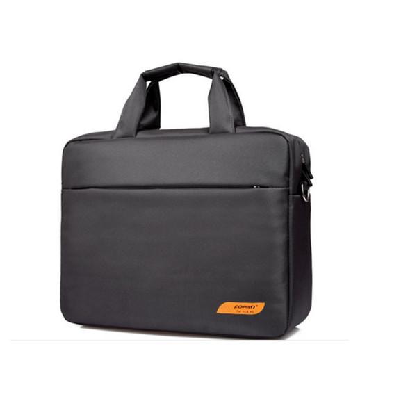 Wholesale- Waterproof women men business briefcase funda portatil 15.6 15 sleeve laptop messenger bags handbag baobao travel lugguage