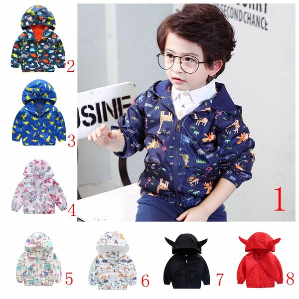 Spring&Autumn 2017 New Cotton Baby boys Girls Cardigan Coat Spend Three Flowers Lollipops Dot Jacket Kids Children Clothing top quality